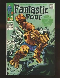 Fantastic Four # 79 VF+ Cond.