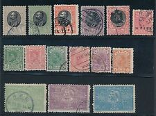 SERBIA **26 MH & USED ISSUES (1901-1942)**, CV $50