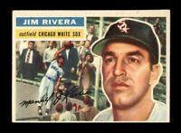 1956 Topps Baseball #70 Jim Rivera WB (White Sox) EXMT