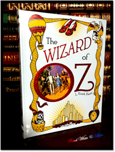 The Wizard of Oz by L.F. Baum New Sealed Illustrated Leather Bound Hardback