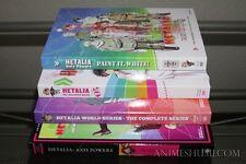Hetalia Seasons 1,2,3,4 & 5 + Movie (10-Disc) Complete Anime DVD Bundle R1