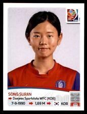 Panini Women's World Cup 2015-canción Suran Corea del Sur nº 354