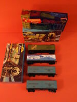 Vintage ATHEARN Lot Of 4 Freight Cars Ho Scale Excellent Condition (2)