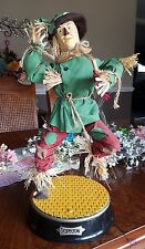 The Wizard of Oz Animated Musical Scarecrow Figure