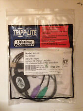 Tripp Lite USB to PS/2 Adapter - Keyboard and Mouse (B015-000)
