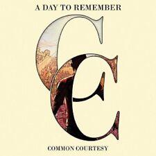 A DAY TO REMEMBER - COMMON COURTESY  CD  16 TRACKS  HARD & HEAVY & METAL  NEU