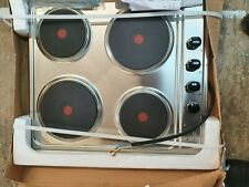 CANDY CLE64X Electric Solid Plate Hob - Stainless Steel BRAND NEW