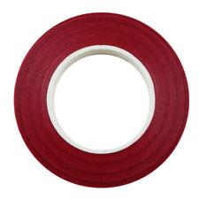 12 Pieces Florist Stem Tape Wire Floral Buttonholes Corsage Craft 30m Red