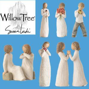 Full Range of Willow Tree Love Healing Friendship Caring Hope Figure Ornaments