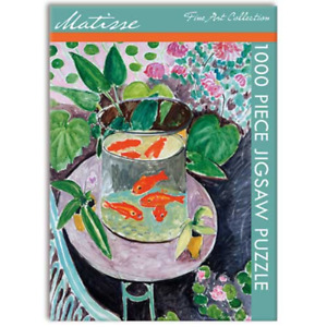 Jigsaw Puzzle, Matisse - Goldfish 1000 piece, Gifted Stationery