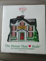 CHRISTMAS ORNAMENT NEW DEPT 56 THE HOUSE THAT LOVE BUILT 1997  MCDONALD  SEALED