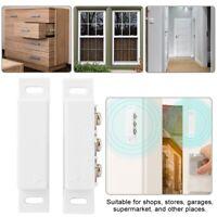 Wired Door Window Magnetic Contact Alarm Burglar Security Alarm For Shop Garage