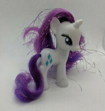"My Little Pony FiM Rarity Unicorn Purple Tinsel 3"" Brushable"