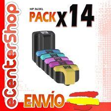 14 Cartuchos de Tinta NON-OEM HP 363XL - Photosmart C6100 Series
