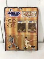 1989 Starting Lineup Baseball Greats Mickey Mantle & Joe DiMaggio NY Yankees