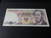 POLOGNE, BILLET de 100 STO ZLOTYCH 1988 TTB, BANK NOTE