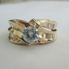 1.45 Carat 14K Gold Diamond Engagement Ring Center=.65 F-SI2  Value=$6,500