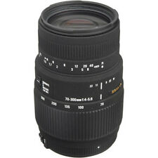 Sigma 70-300mm f/4-5.6 DG Macro Lens for Sony Alpha