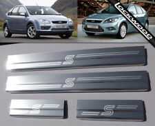 Ford Focus MK2 (2005 - 2011) Stainless Steel Sill Protectors / Kick Plates