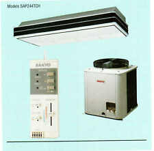 Sanyo SAP244TCH 2 Ton Ductless Ceiling Suspended Heat Pump