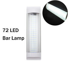 4W 72LEDs Interior Lights Strip Bar Lamp Van Caravan  Motor Kitchen Bathroom 12V