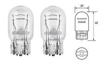 2 x T20 W21/5W 7443 580 Large Bulbs DRL Indicator Stop Brake Side Lights Capless