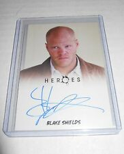 Heroes Tv-Show Autograph Trading Card Blake Shields as Flint Gordon