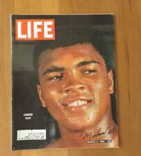 Muhammad Ali Authentic Autographed Signed Life Magazine March 6th 1964 Ex