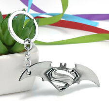 Antique Silver Key Ring Keyfob The Avengers Comics Superman Bat Keyrings Chain