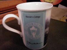 "1996 Thomas Kinkade Coffee Mug Titled ""Merritt's Cottage"""