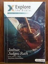 Explore The Bible Adults Joshua Judges Ruth Winter 2016-17 Adults HCSB Study Gui