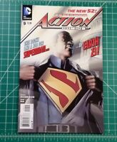 Action Comics #9 (2012) NM+ 1st Full App Calvin Ellis Black Superman New 52