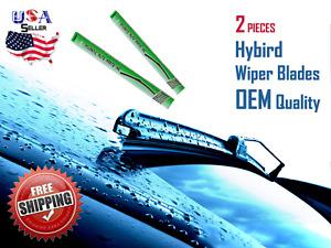 "19"" & 19"" INCH Pair Hybird Windshield Wiper Blades J-HOOK OEM QUALITY"