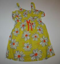 NUOVO NEXT UK giallo bianco estate abito floreale 6 anni o 116cm CON ETICHETTA