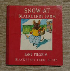 Snow at Blackberry Farm (Little Books) by Pilgrim, Jane 1983