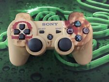 Playstation 3 dualshock wireless controller God of War Limited Edition