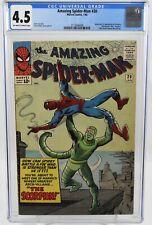 Amazing Spider-Man #20 1965 CGC Graded 4.5  Origin & 1st Appearance Scorpion