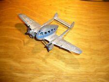 VINTAGE 1940's TOOTSIETOY CRUSADER X110 TWIN ENGINE AIRPLANE