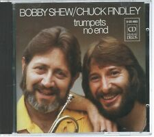 CD: BOBBY SHEW & CHUCK FINDLEY - Trumpets No End