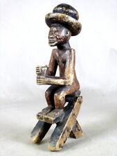 STATUETTE  AFRICAINE  TCHOKWE  DE  R.D.C.