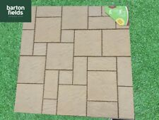 Cotswold Cream Paving Kit, Patio slabs, mixed sizes, 5.76m2, patio / flags