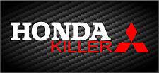 Honda Killer Mitsubishi Decal JDM Car Window Funny Vinyl STICKER