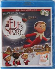 The Elf on The Shelf Presents An Elf's Story DVD & Blu-Ray Brand New Sealed