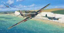 Original Aviation Art: Hawker Hurricane Battle of Britain oil painting