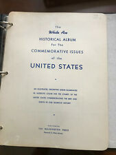 Us Stamp Lot #2 - White Ace Historical Album Commemoratives, Air Mail