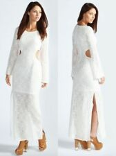 Lace Long Sleeve Casual Maxi Dresses for Women