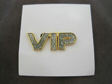 VIP Very Important Person Fashion Pin on Card