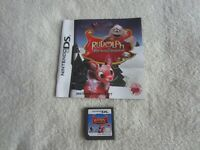 Rudolph the Red-Nosed Reindeer (Nintendo DS, 2010) - Cartridge and Booklet