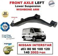 FRONT LEFT Lower Wishbone ARM for NISSAN INTERSTAR dCi 80 90 100 120 140 2002-on