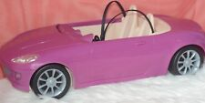 Barbie Doll  Sports Car Convertible Purple 2 Seater Automobile Child Toy Glam .